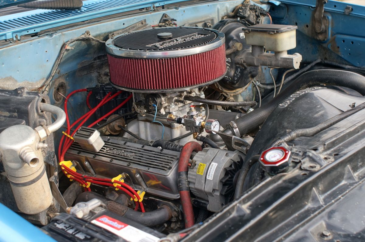 chevy 350 small block sbc c10 k10 truck engine