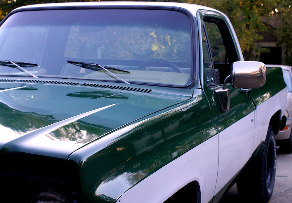 $50 paint job! or: How to paint your truck/car with Rustoleum and a