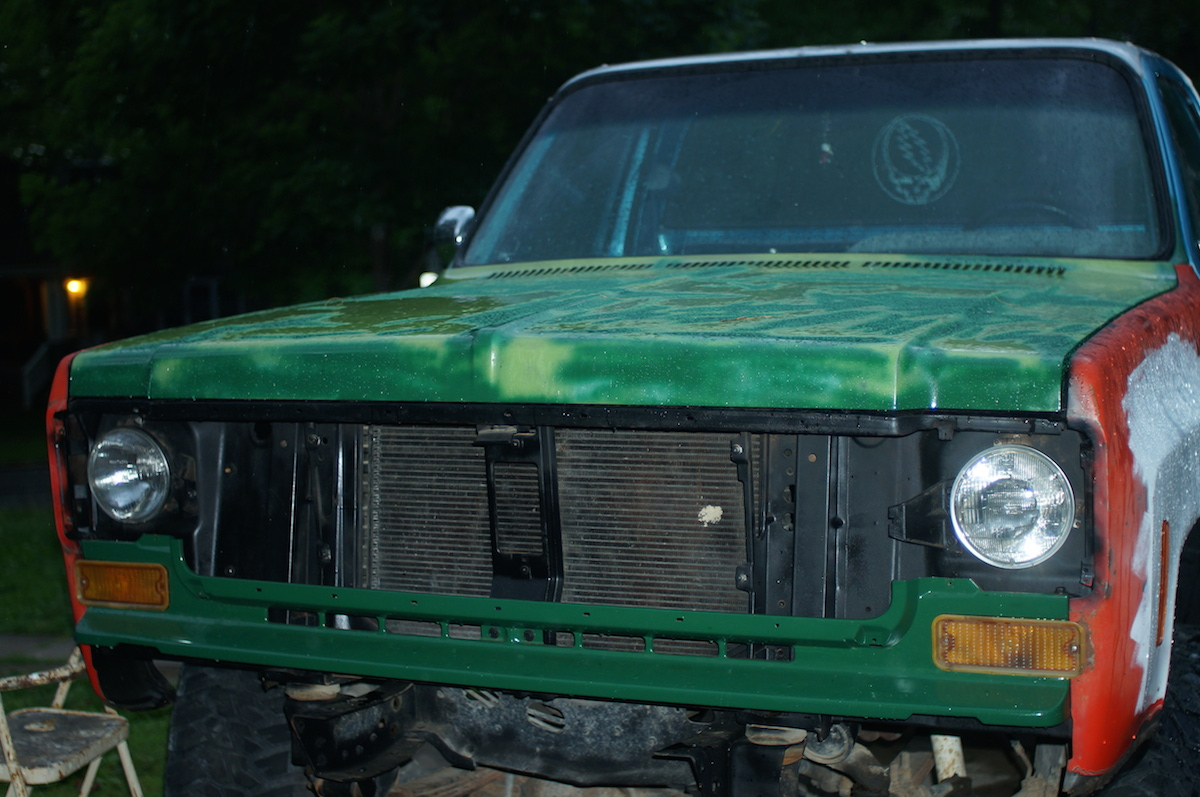 Chevy K10 truck restoration Phase 3: Front Clip Swap   Dan·nix