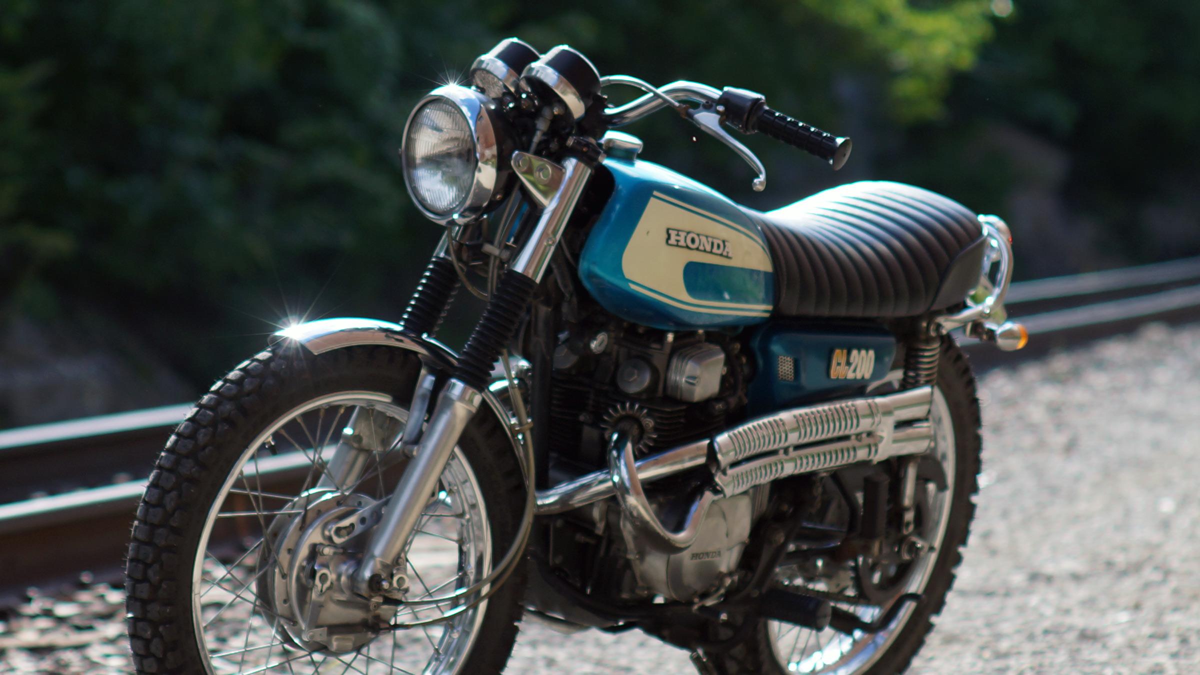 1974 Honda Cl200 Dan 183 Nix