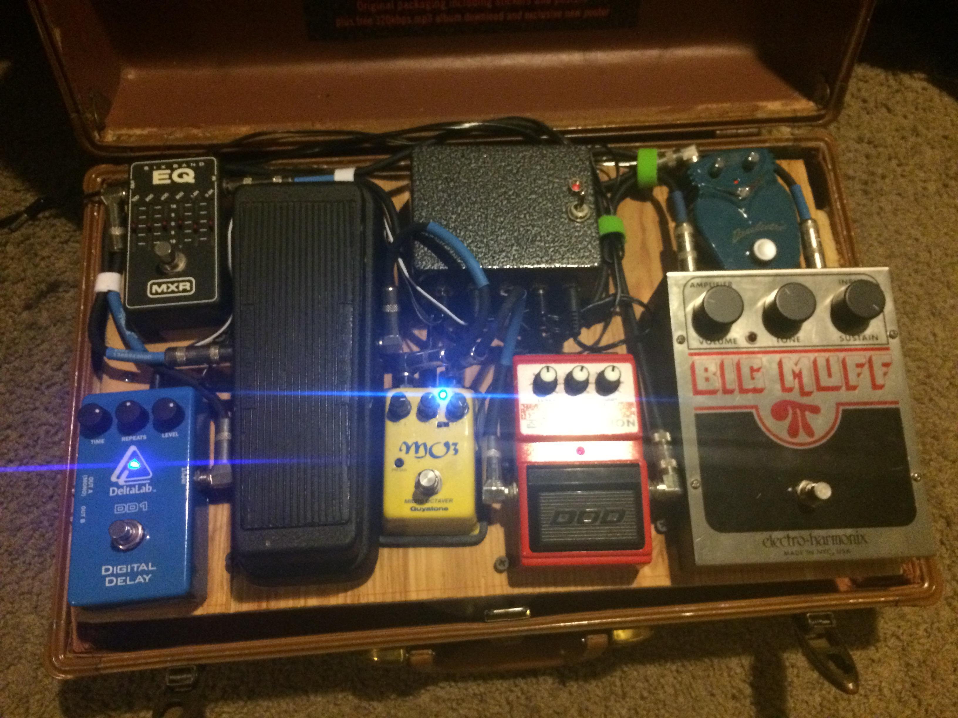 DIY guitar pedal board | Dan·nix