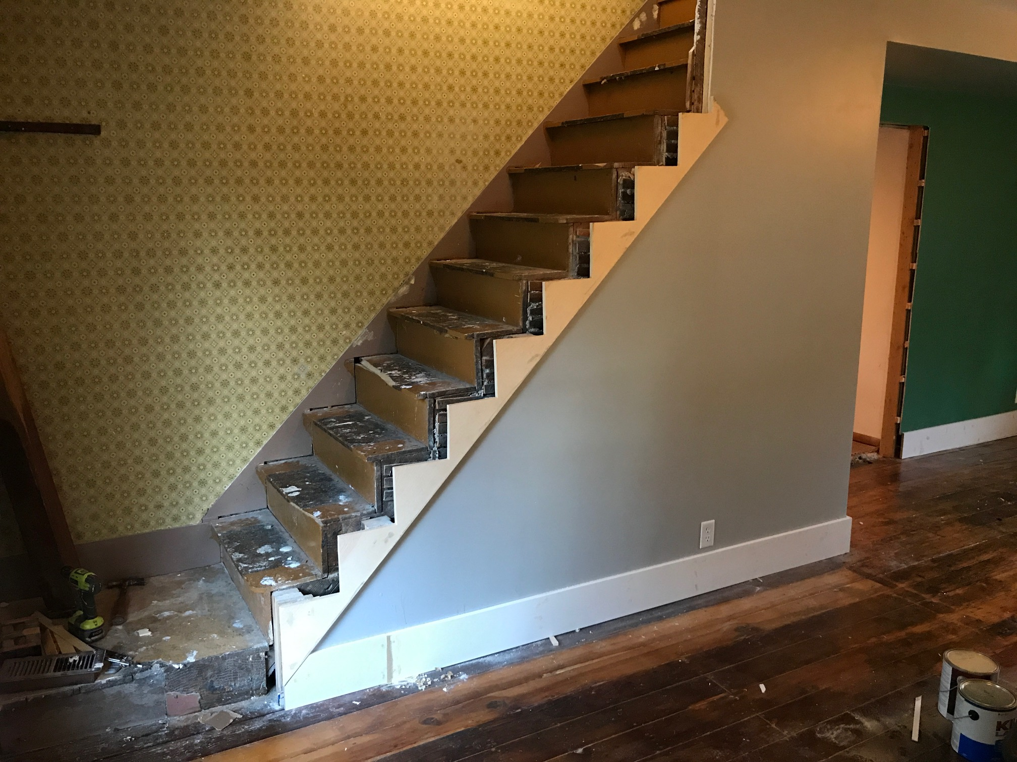 This Old Fixer Upper Part 5 Restoring The Staircase