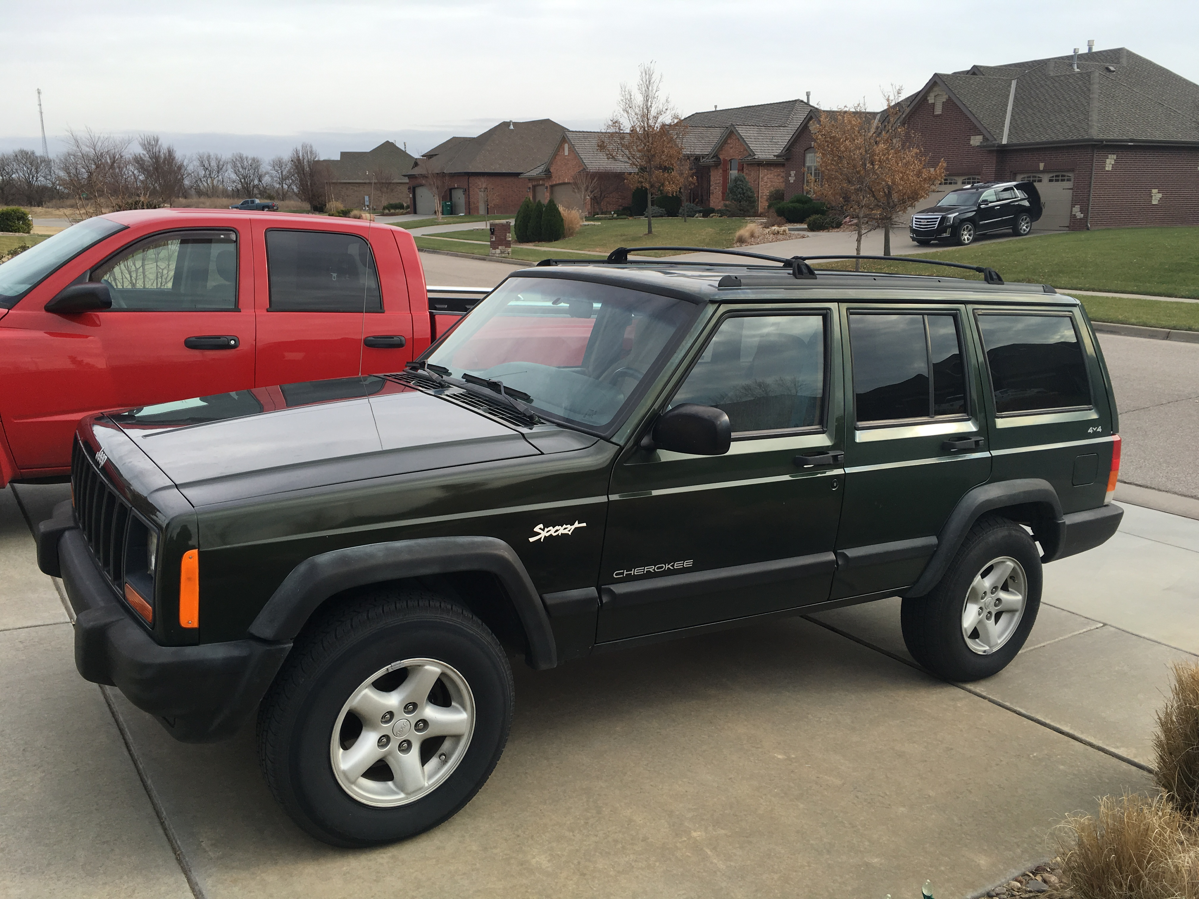 New project A 97 Jeep Cherokee XJ with 244 000 on the clock