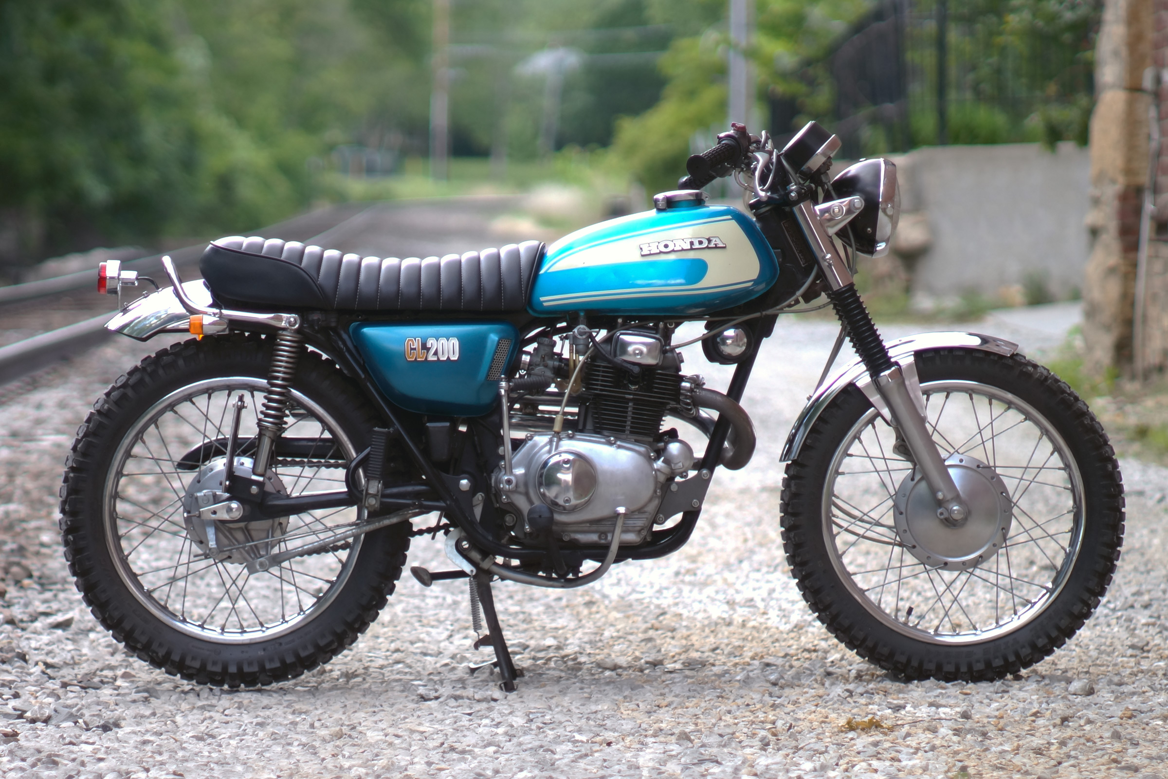 Vintage Scrambler Build Part 2 Dan 183 Nix