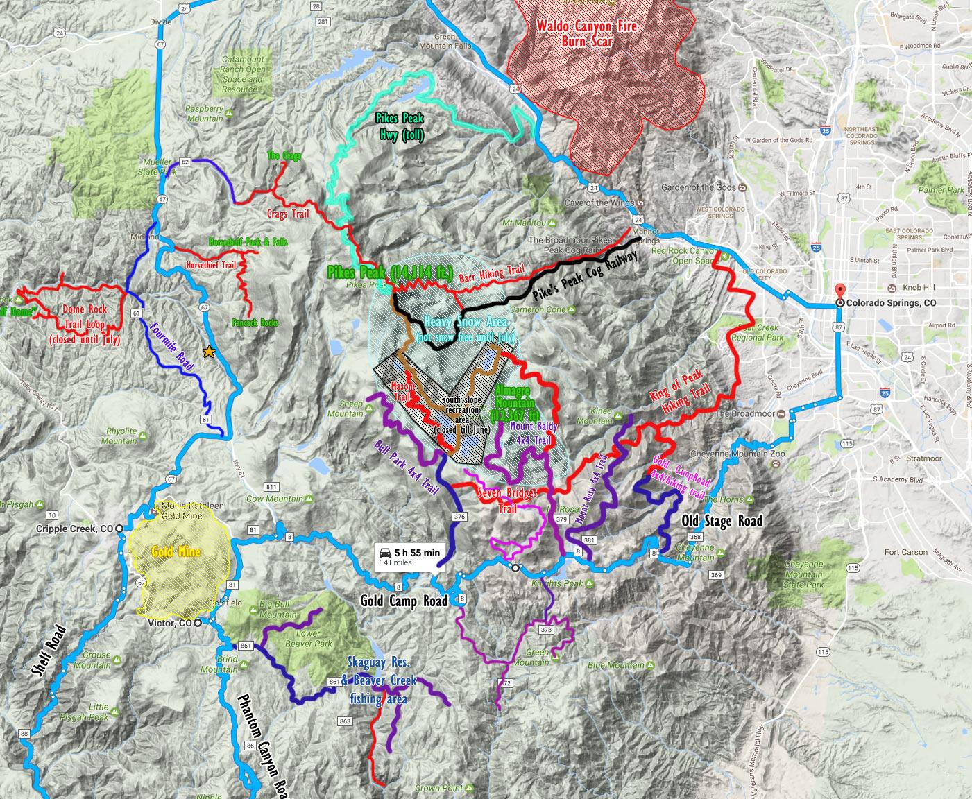 4x4 Trail Report: Mount Rosa and Mount Baldy | Dan·nix