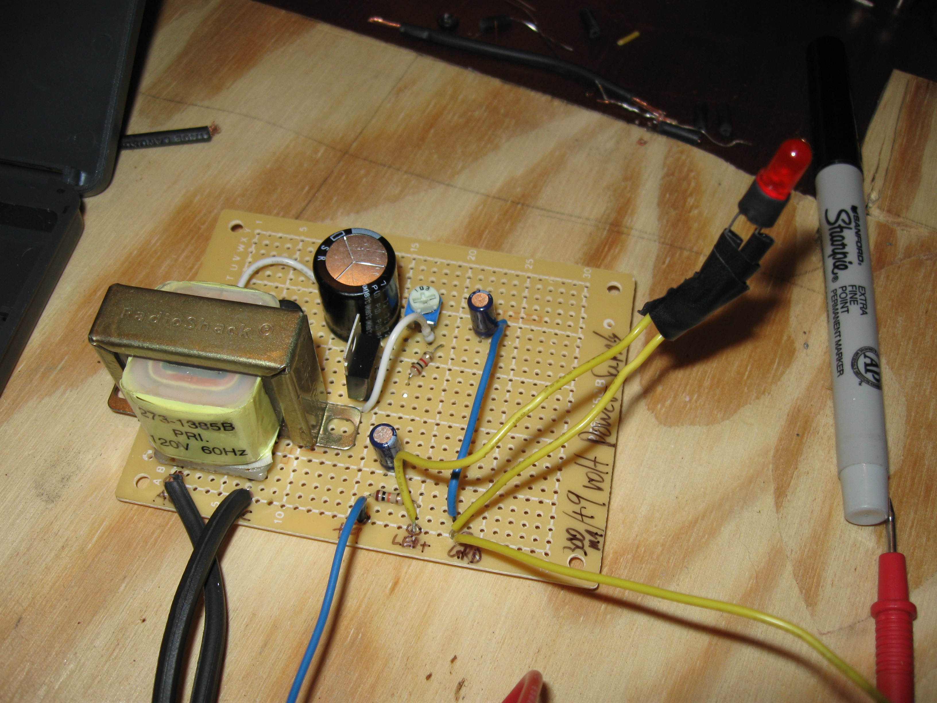 Diy Power Supply For Guitar Effect Pedals Dannix Variable Supplies Projects And Circuits Circuit Board Stomp Boxes