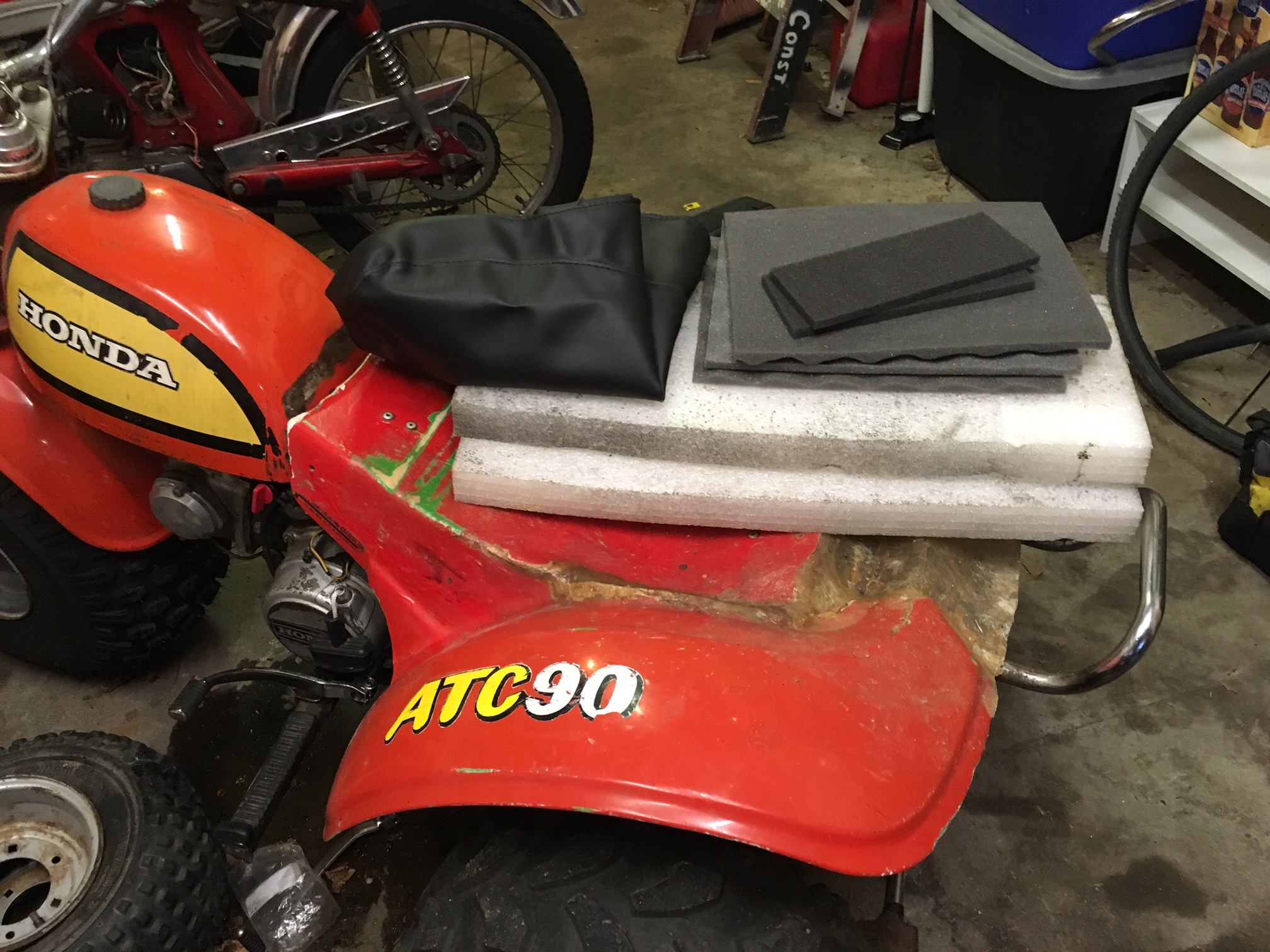 How Not To Make A Diy Seat For A Motorcycle Atv Dan 183 Nix