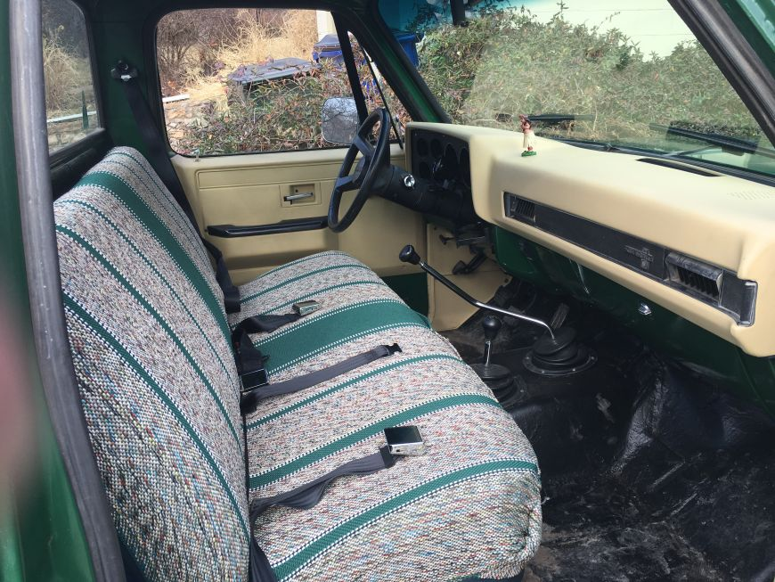 Chevy K10 truck restoration Phase 7: Interior | Dan·nix