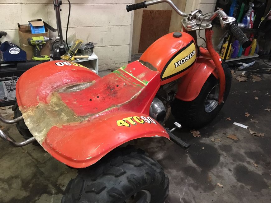 Honda atc90 three wheeler atc