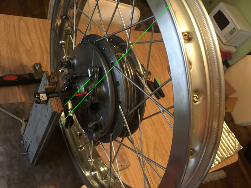 dishing and truing motorcycle rims spokes wheels
