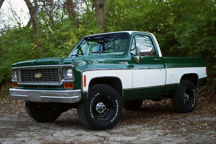 Finished on 1975 Dodge Power Wagon