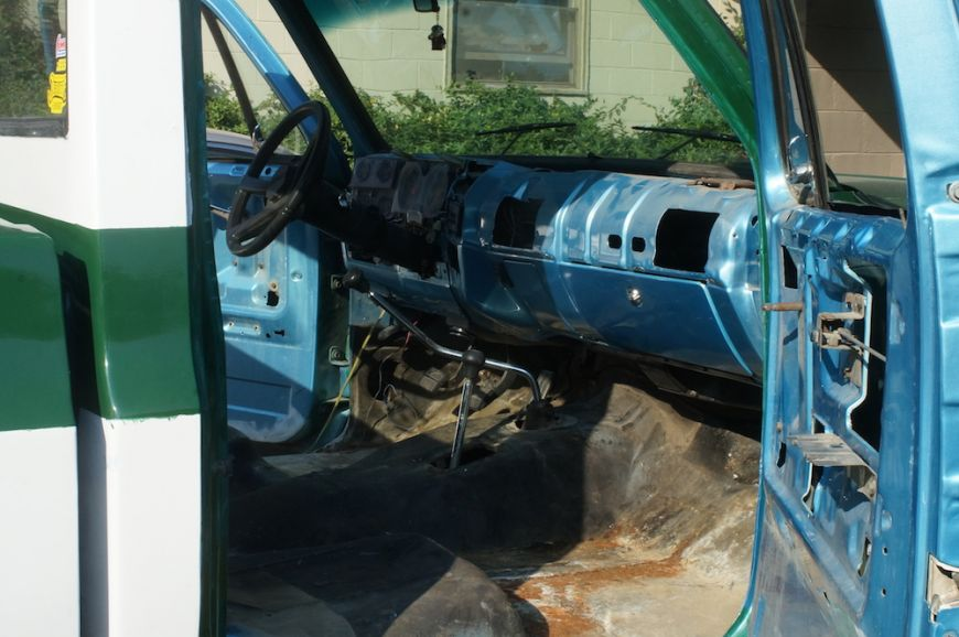 Chevy K10 Truck Restoration Phase 7 Interior Dan 183 Nix