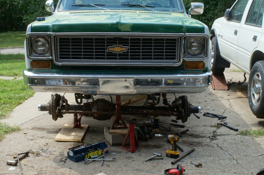 Chevy K10 Truck Restoration Phase 5 Suspension And Wheels