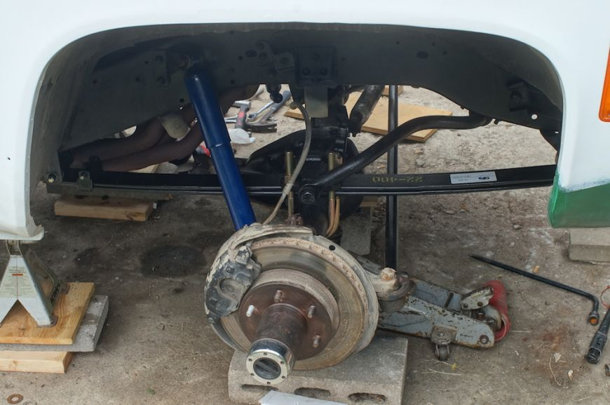 chevy k10 squarebody front suspension