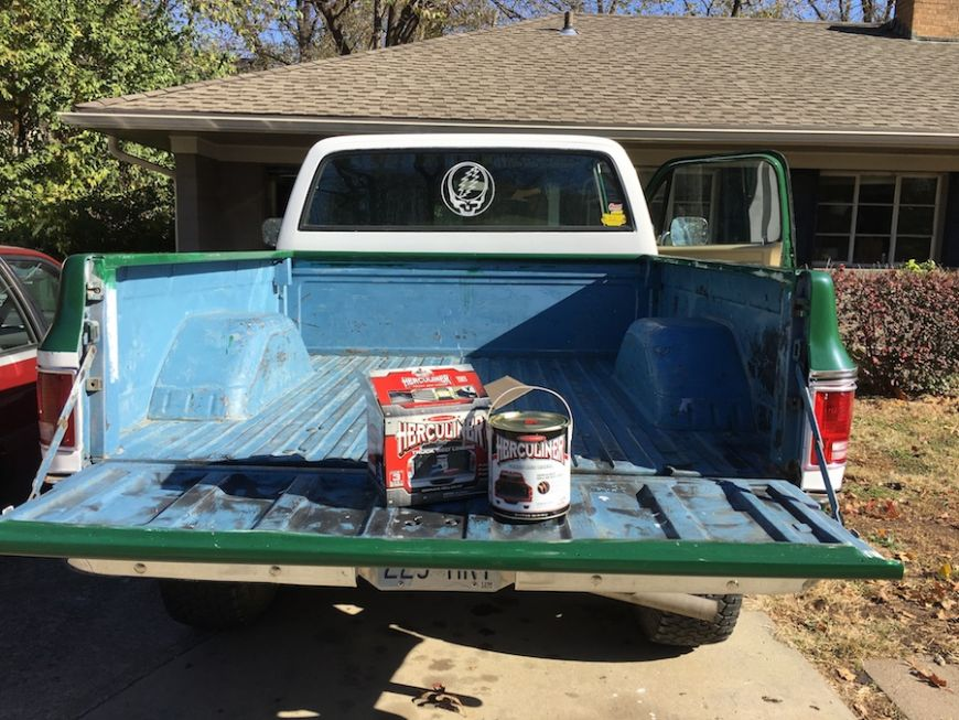 chevy c10 k10 truck bed coating