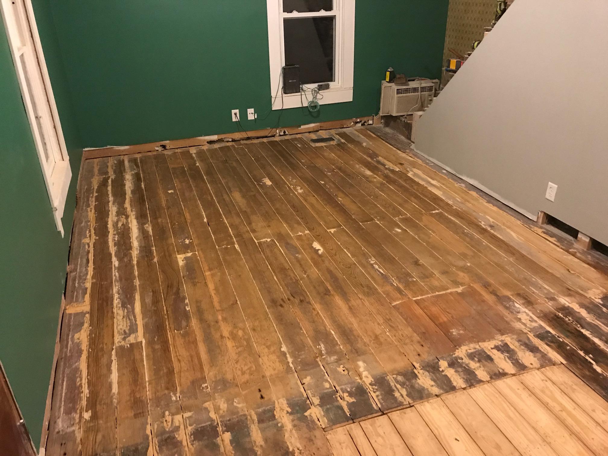 Antique Douglas Fir Floorboards Hardwood Floor Restoration Refinishing