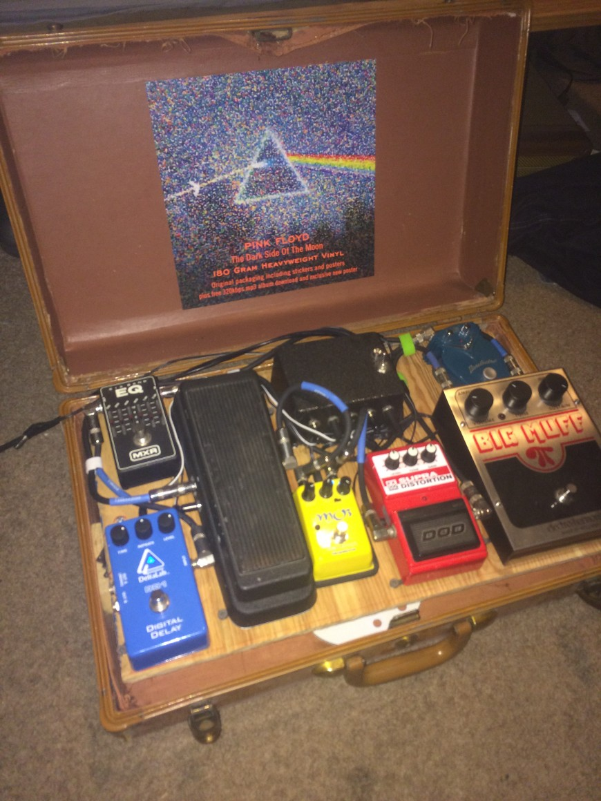 diy guitar pedal board dan nix. Black Bedroom Furniture Sets. Home Design Ideas