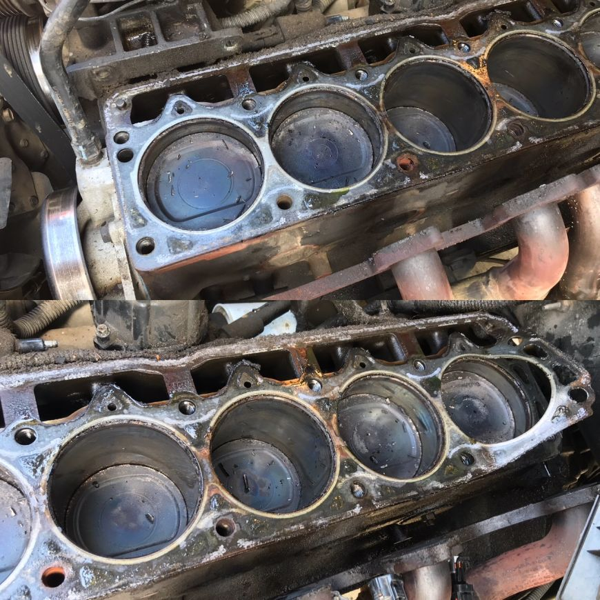 Signs Of A Blown Head Gasket >> Project Cherokeeper: Blown Head Gasket! Time to Rebuild the Jeep 4.0 Engine Top-End | Dan·nix