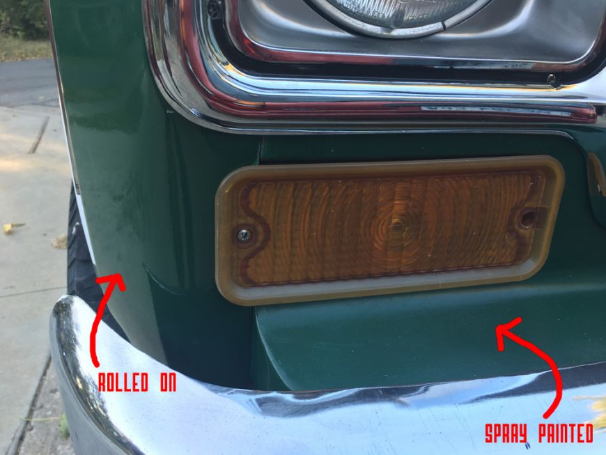 50 Paint Job Or How To Your Truck Car With Rustoleum And A Roller Part 2 Dan Nix